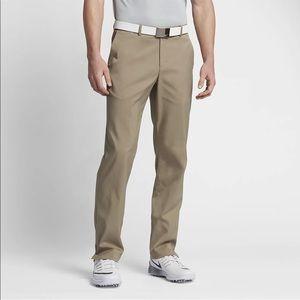 Nike Men's Dri-Fit Khaki Golf pants Size 34/30